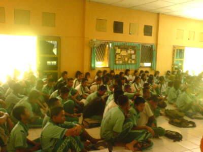 Peserta HRP dari siswa siswi SMA 3 Prabumulih