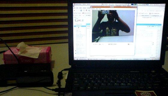 webcam dengan kamera ktouch