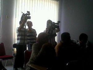 Liputan MRP oleh Sriwijaya TV untuk acara Beladas