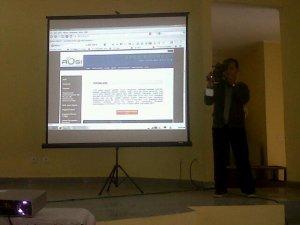 RoadShow Linux Palembang diliput oleh Sriwijaya TV